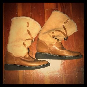 Shoes - Pietro Italian Fur Lined Boots.